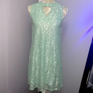 Maurices Mint Sleeveless Mini Dress